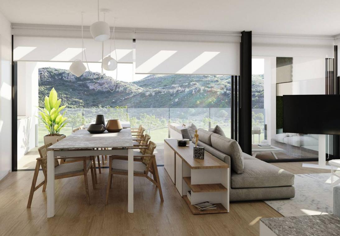 Moderne Wohnungen in Font del Llop