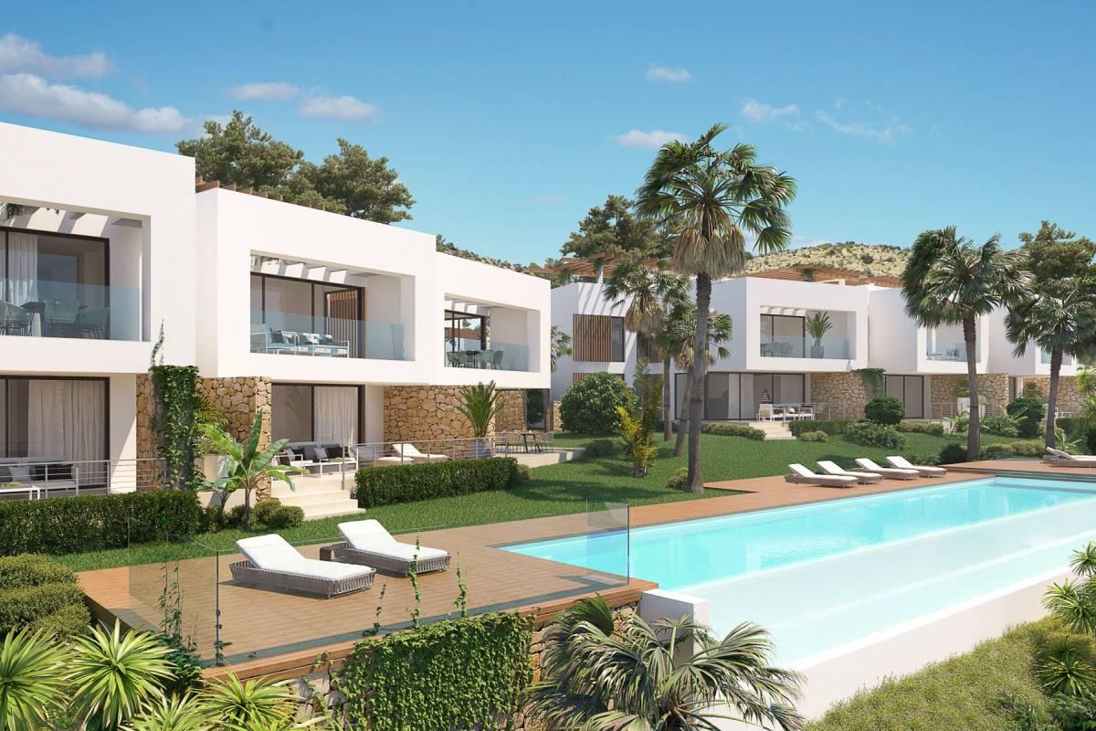 new construction properties in Font del Llop