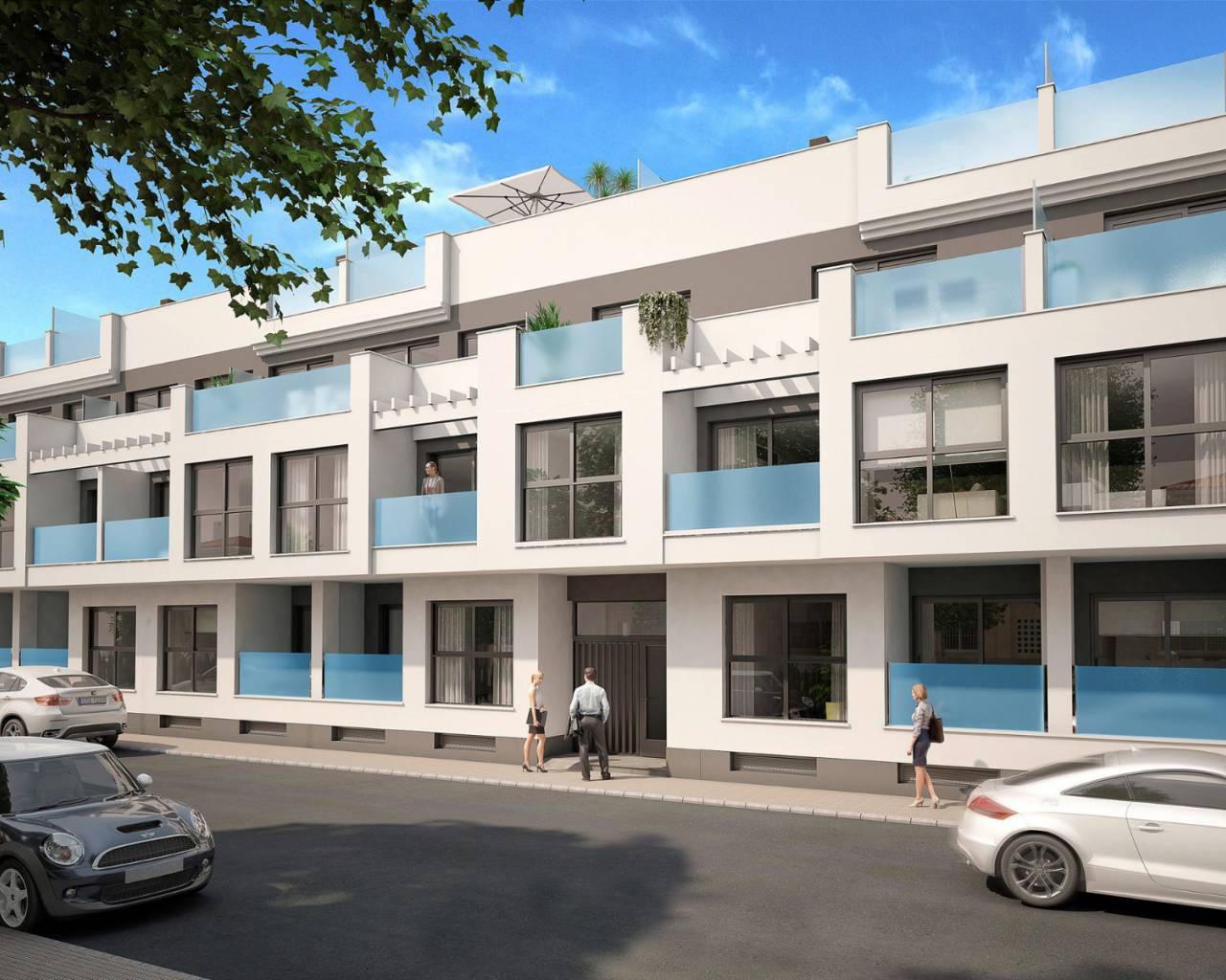 Apartment · New build · Torrevieja · Center Torrevieja