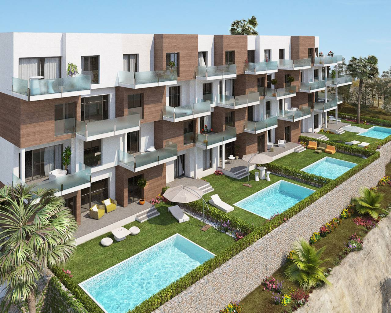 Appartement - Nouvelle construction - Orihuela Costa - Las Ramblas Golf