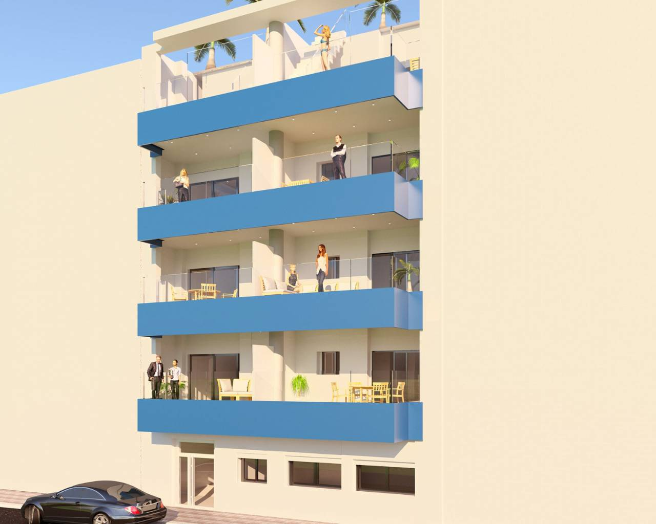 Appartement · Nouvelle construction · Torrevieja · Playa del Cura