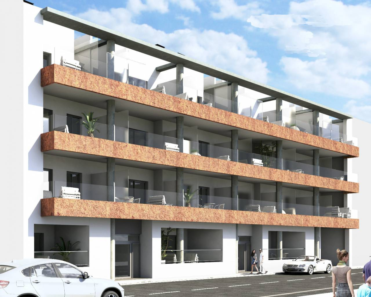 Appartement - Nouvelle construction - Torrevieja - Playa del Cura