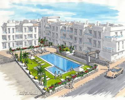 New build - Apartment - Torrevieja - Center Torrevieja