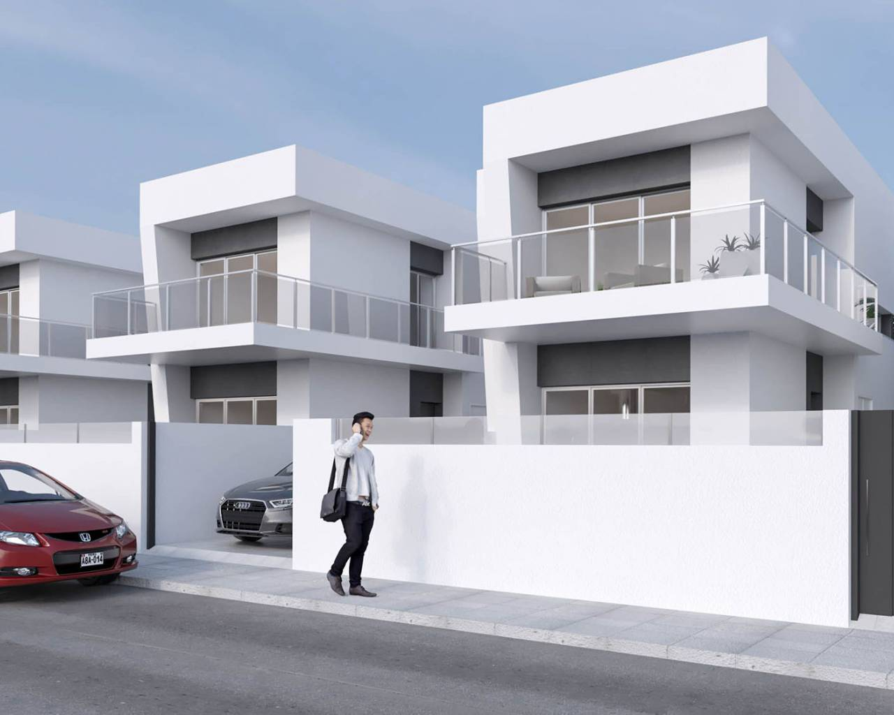 New build - Quad house - Daya Vieja