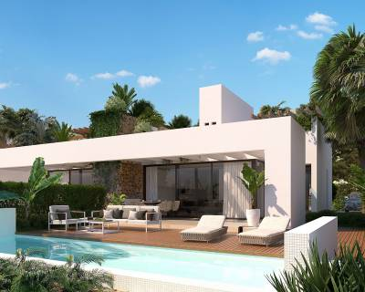 New build - Semi detached villa - Montforte del Cid - Font del Llop Golf