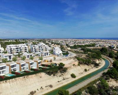 New build - Semi detached villa - Orihuela Costa - Villamartin Golf