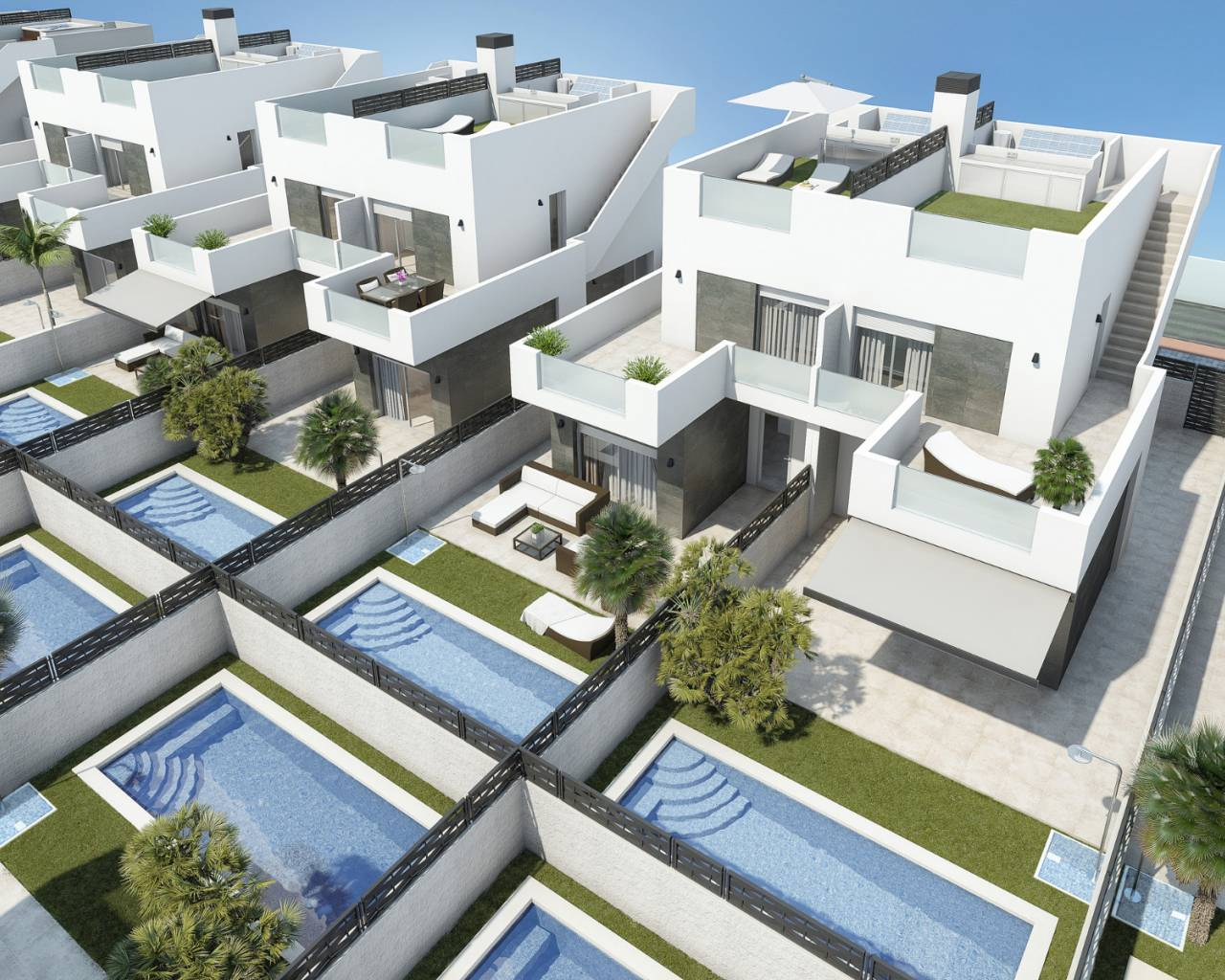 New build - Townhouse / Duplex - Rojales - Ciudad Quesada