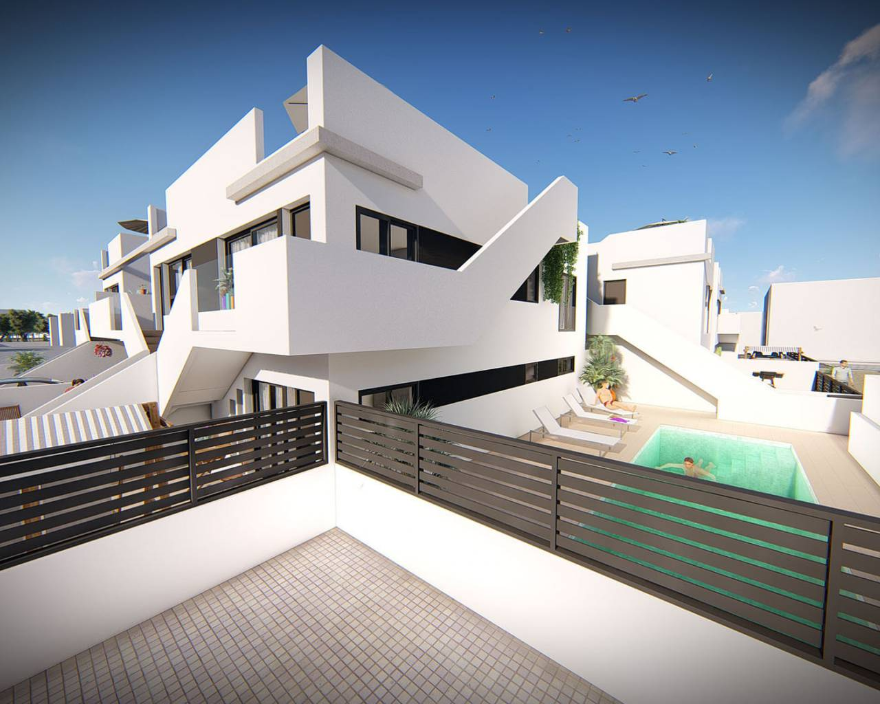 Nouvelle construction - Appartement - San Pedro del Pinatar - Lo Pagan