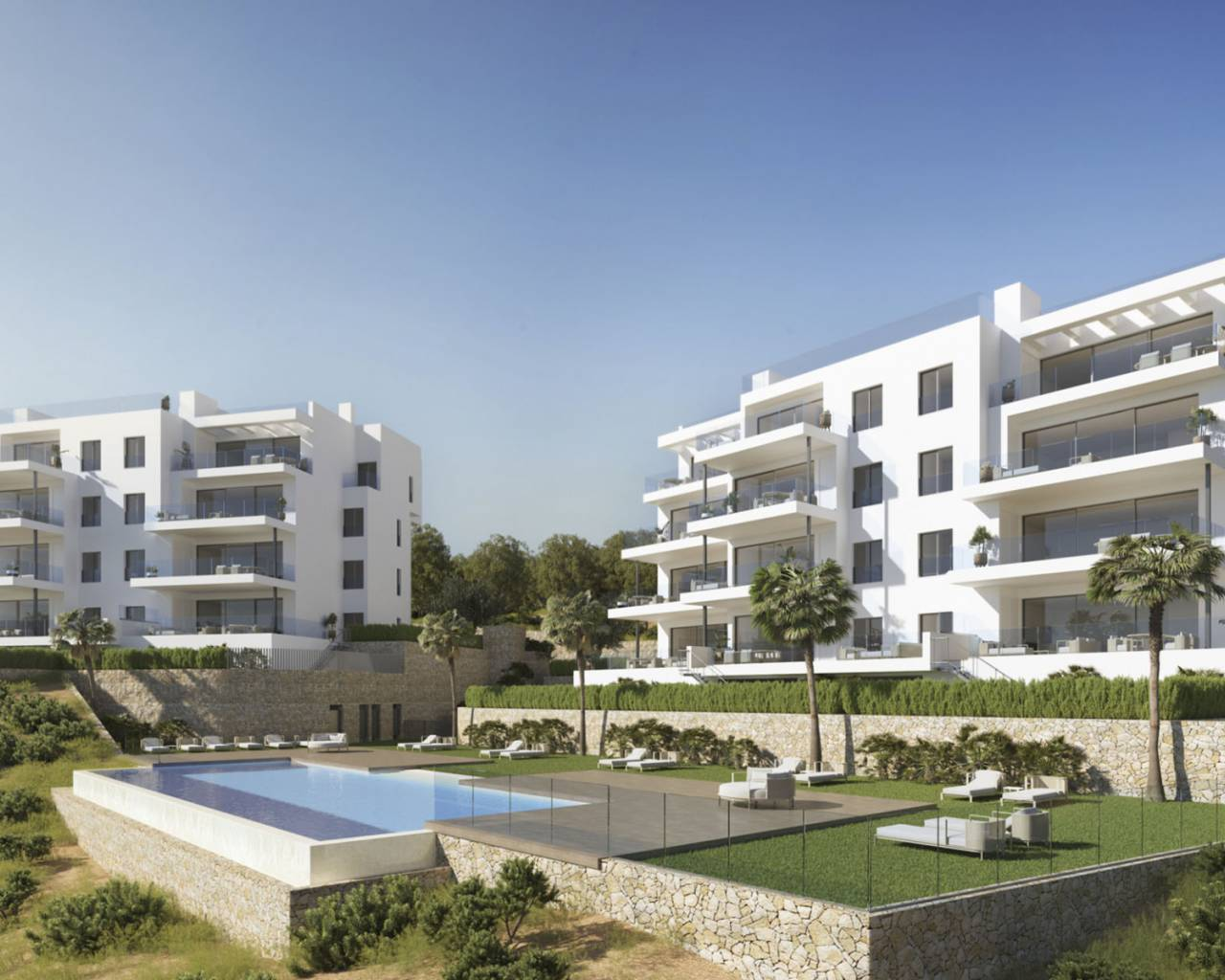 Penthouse · New build · Orihuela Costa · Las Colinas Golf