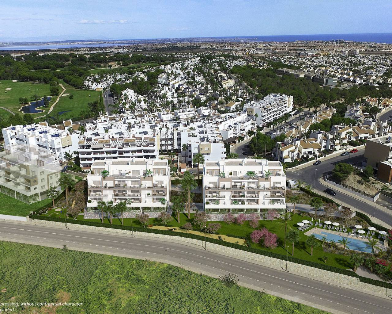 Penthouse · New build · Orihuela Costa · Villamartin Golf