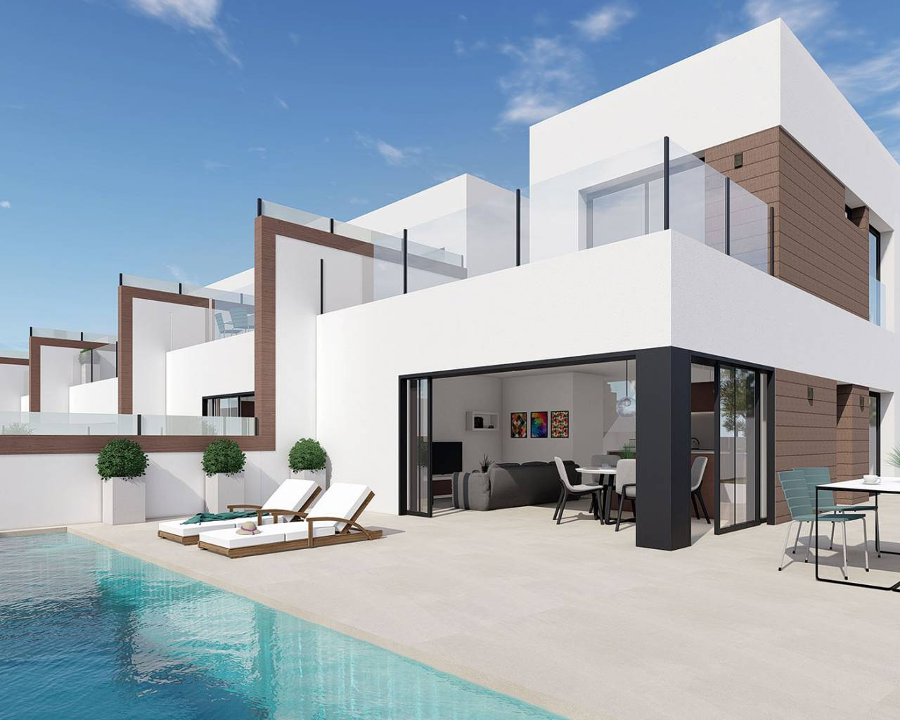 Semi detached villa · New build · Benijófar · Benijófar