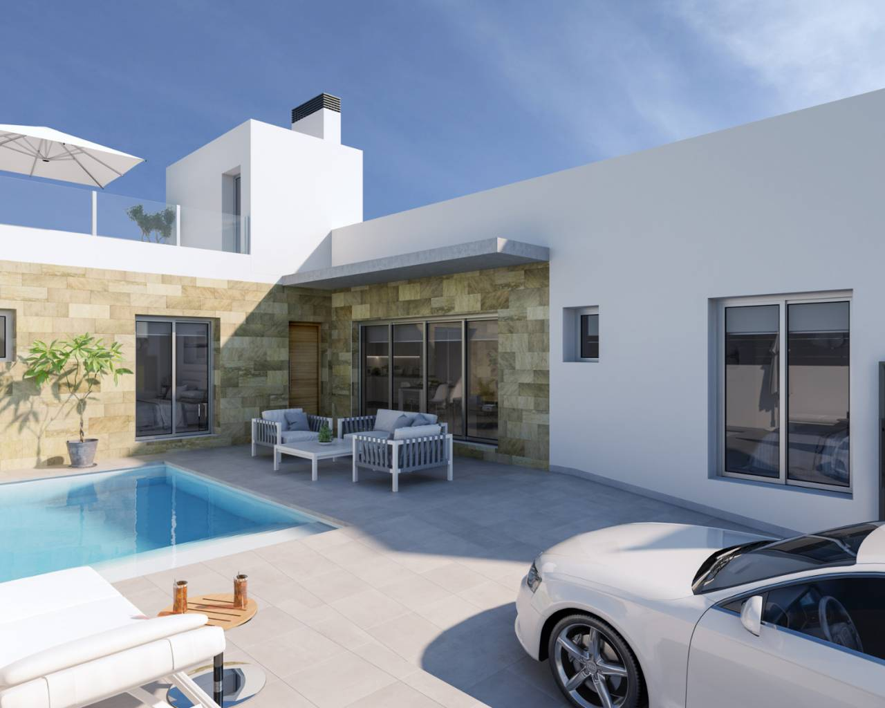 Semi detached villa · New build · Daya Vieja · Daya Vieja