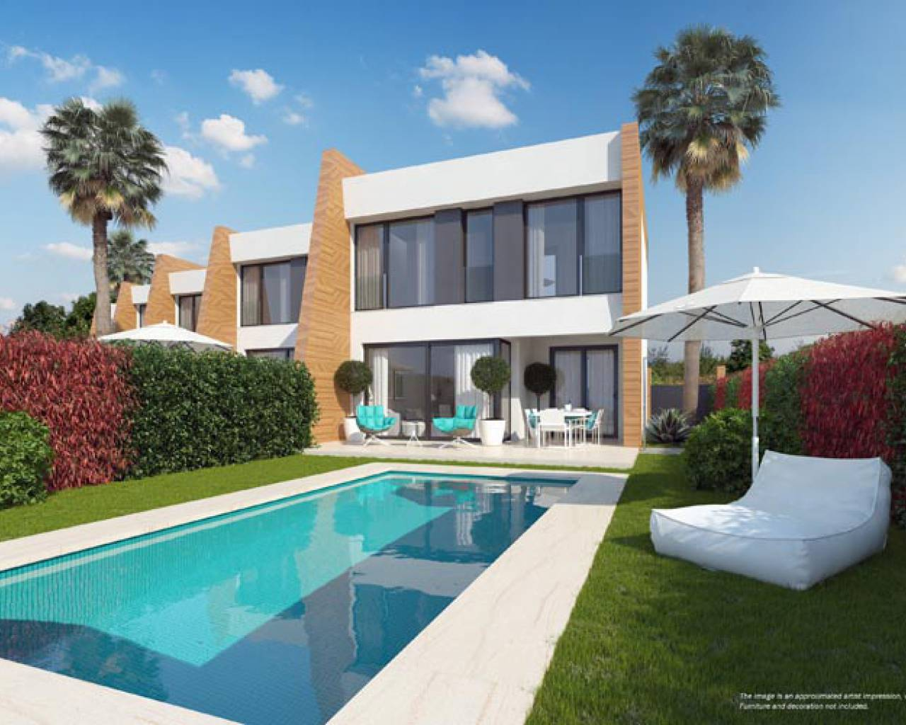 Semi detached villa · New build · Orihuela Costa · Villamartin Golf
