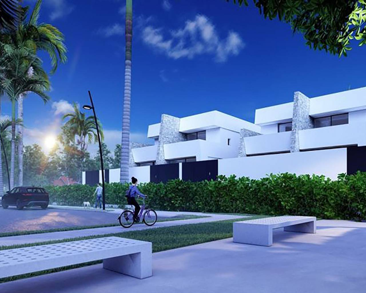 Semi detached villa · New build · San Pedro del Pinatar · San Pedro del Pinatar