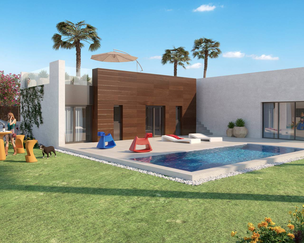 Villa · New build · Algorfa · La Finca Golf
