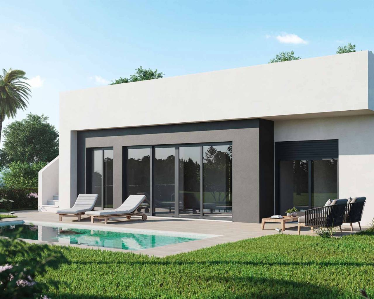 Villa - New build - Alhama - Golf