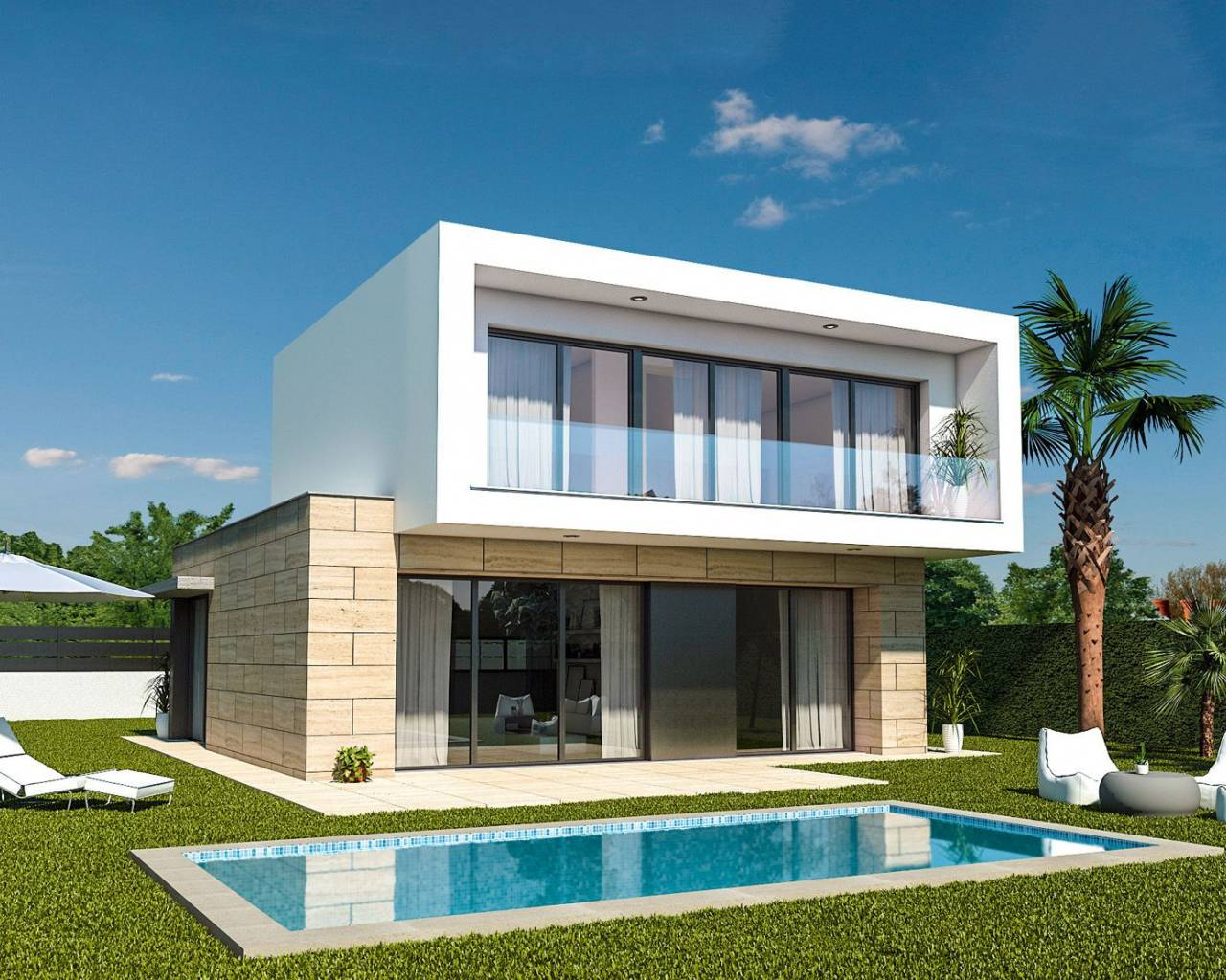 Villa · New build · Los Alcazares · Roda Golf