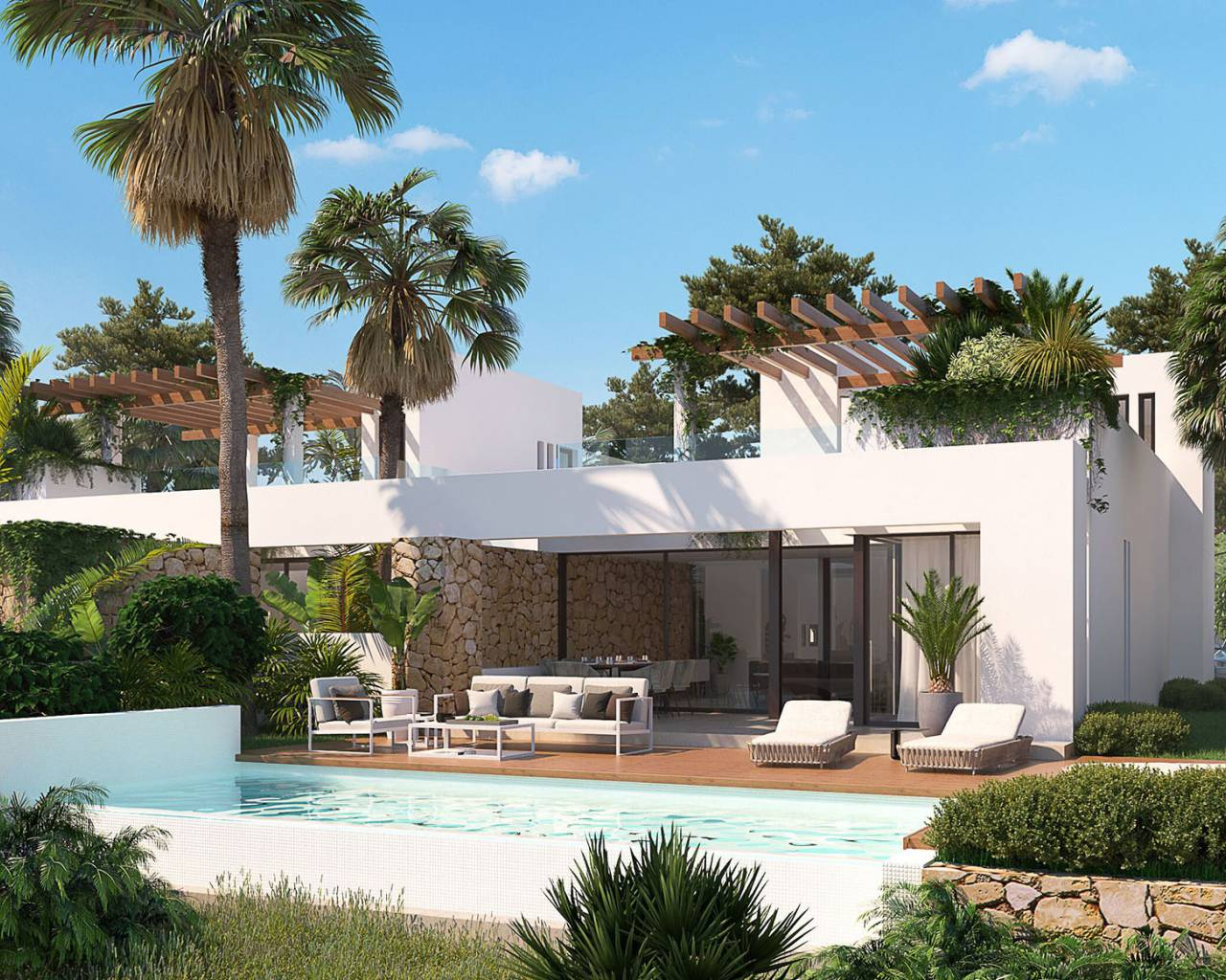 Villa · New build · Montforte del Cid · Font del Llop Golf