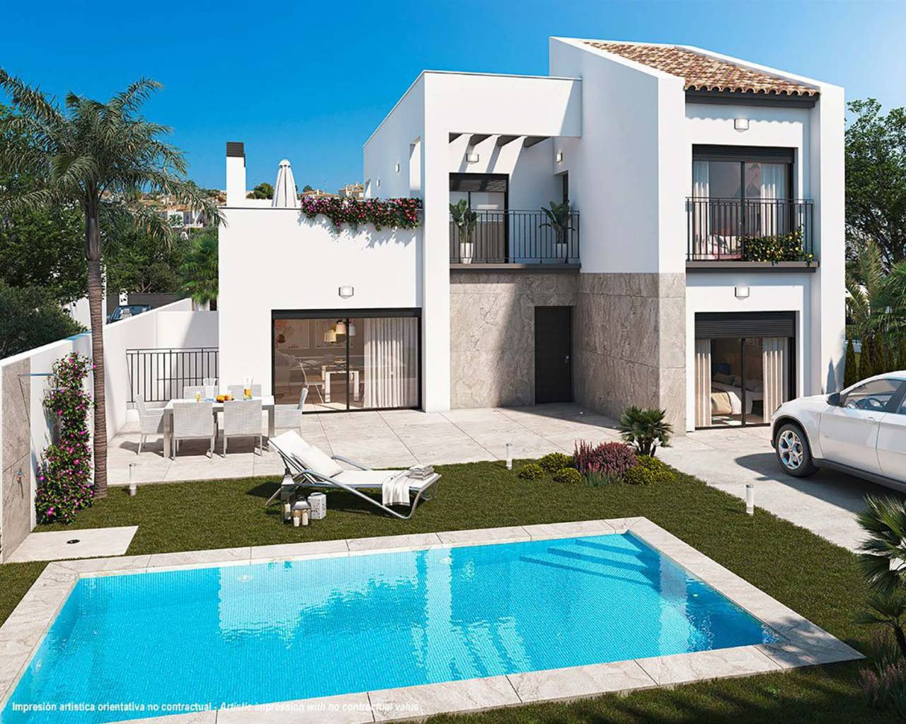 Villa · New build · Rojales · Ciudad Quesada