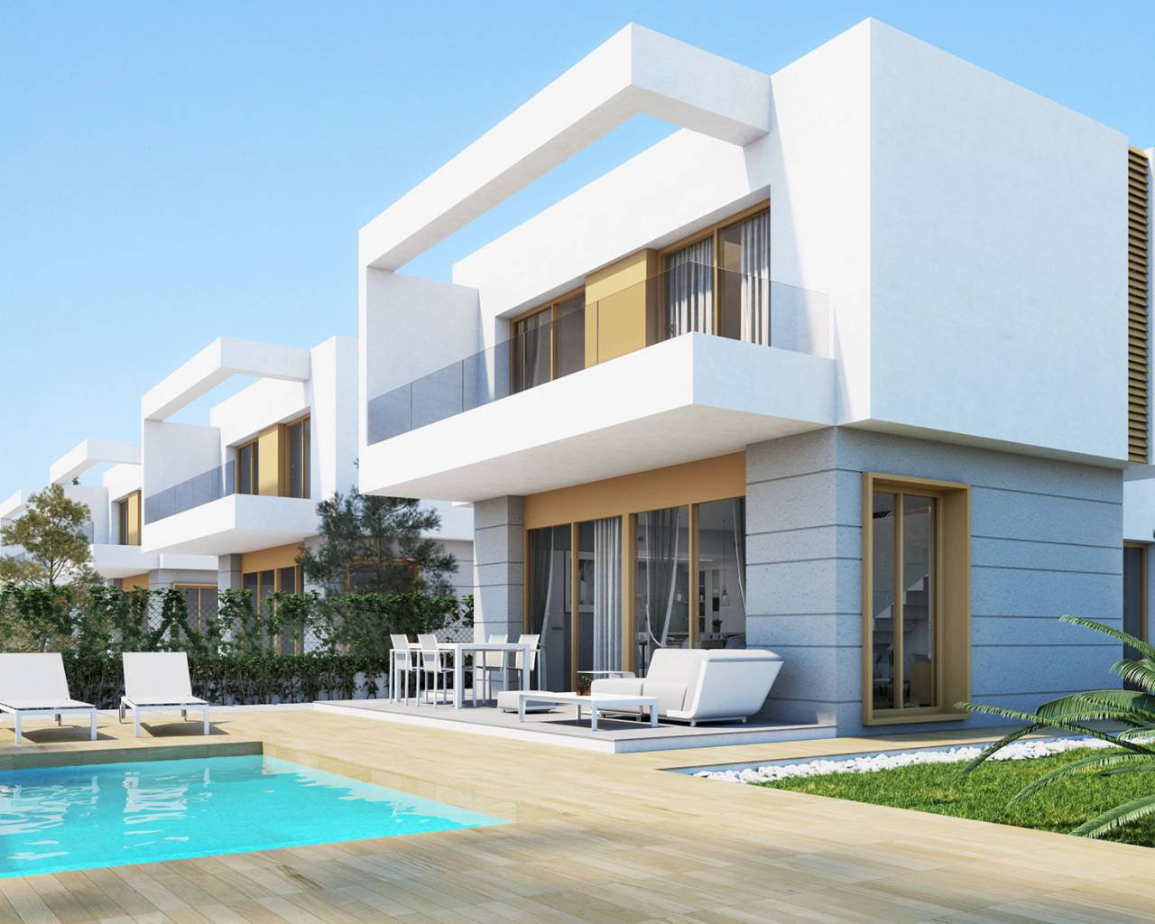 Villa - Nouvelle construction - Orihuela - Vistabella Golf