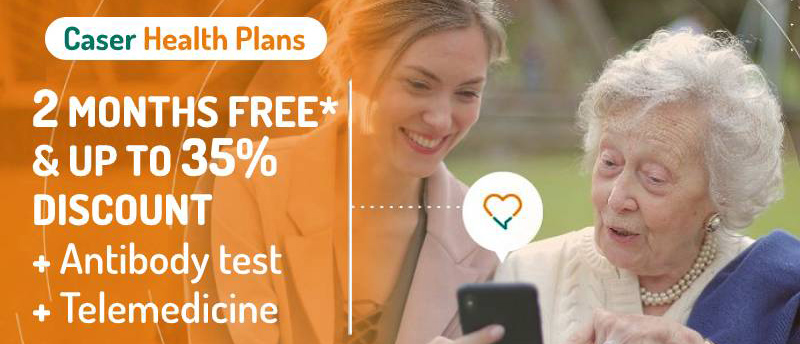 Special offer Caser Health Insurance - 2 month for free