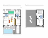 New build - Townhouse / Duplex - Daya Vieja